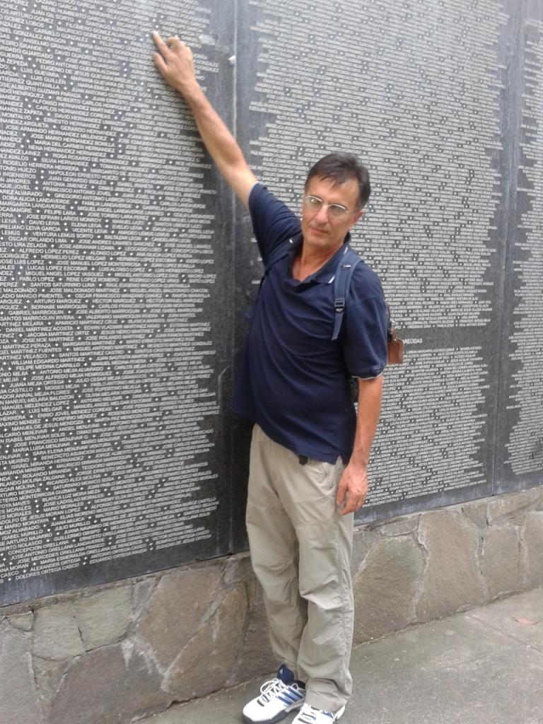 11 Il nome di Marianella nel Monumento alla memoria