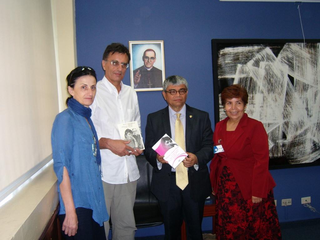 Incontro con il segretario di cultura alla Presidenza della Repubblica, dott. Ramòn Rivas