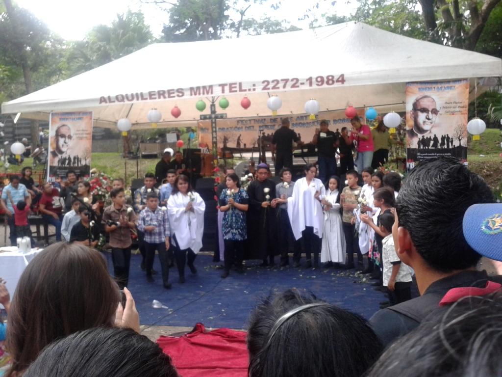 Parco Cuscatlàn: festival di musica e teatro in memoria di mons. Romero
